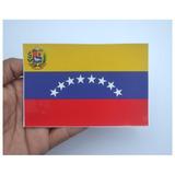 Calcomania Banderas, Venezuela, Brasil, Argentina, Colombia.