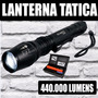 Lanterna T?tica Xml T6 5 Fun??es Longo Alcance Alta P?tencia
