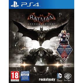 Batman Arkham Knight Juego Ps4 Playstation 4 Oferta