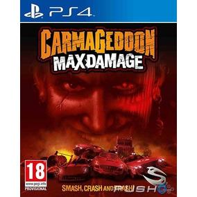 Carmageddon Max Damage Mídia Física Lacrado Ps4