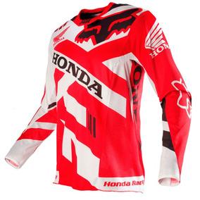 Camisa Fox 360 Honda 16 Vermelho M(m) Rs1