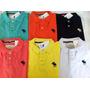 Queima Total Do Estoque 10 Peças Camisas Gola Polo R$ 197,90