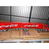 Caminhão Bitrem Miniatura Scania Coca Cola 10eixos 1,65metro