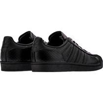Adidas Originales Superstar Negro Sneakers Deportivos M/h
