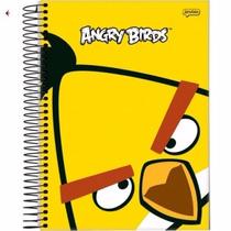 Caderno Angry Brds Univ.96folhas 1x1mat.20/28tam