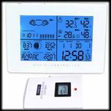 Estação Meteorológica Digital Lcd Wireless Barômetro Tempo