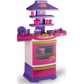 Fogãozinho Panelinha Cozinha Infantil Master 5566 Big Chef