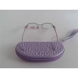 Armação Oculos Grau Infantil Feminino Turma Da Monica