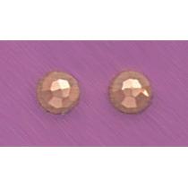 Broqueles Facetados 14k Y 18k Oro Aretes