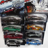 Fast And Furious Rapidos Y Furiosos 2015 Hot Wheels 8 Autos!
