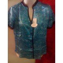 Blusa Camisa China De Seda Nuevas Talla S-l