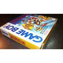 Caja Juego Super Mario Land Gameboy Clasico