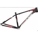 Quadro 29 Tsw Hunter New Preto Vermelho 17 Alumínio Bike