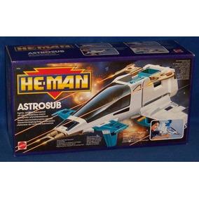 He Man - Astrosub - Mattel Ed 1986 - Mestres Universo- Raro
