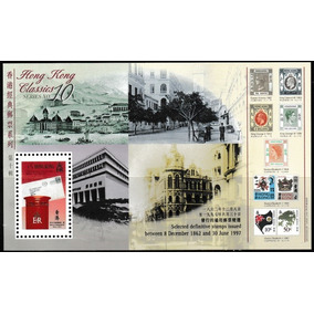 Selos Inglaterra Hong Kong 1997 Reis Rainha Ingleses No Selo