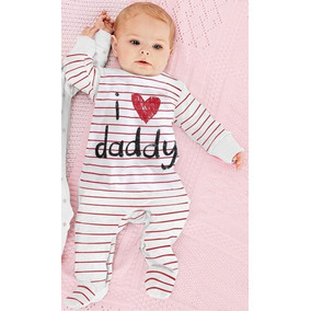 Body Bebê Manga Longa I Love Dad