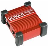 Gi100 Direct Box Ativo Behringer Ultra Gi 100 Para Guitarra