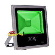 Refletor Led Holofote 20w Verde Bivolt Ip66 Pronta Entrega