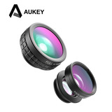 Aukey Lente 3 En 1 Macro, Ojo Pez, Gran Angular Iphone/smart