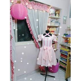 Vestido Lolita Diseño Unico Cosplay Disfraz