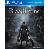 Bloodborne Ps4. Entrega Inmediata. Español. Domicilios