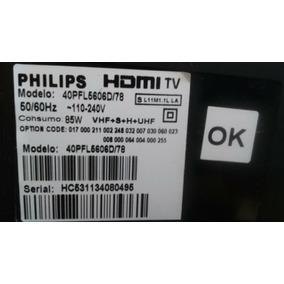 Kit Tv Philips Mod: 40pfl5606d/78