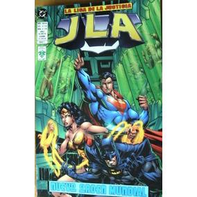 Liga De La Justicia: Nuevo Orden Mundial (jla)