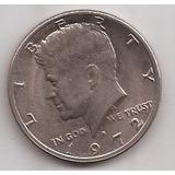 Eeuu Moneda De 1/2 Dolar Kennedy Año 1972 D !!!