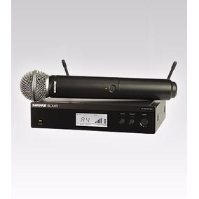 Sistema Inalambrico Microfono Uhf Shure Blx24r/sm58 Nuevo!