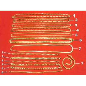 Kit 50 Semi-jóias Correntes E Pulseiras Aço Folheado À Ouro
