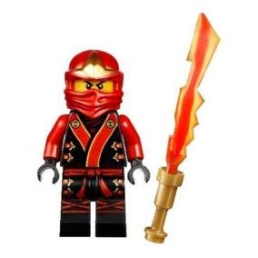 Juguete Lego Ninjago Kai 2013 Traje Minifigure Batalla Fina