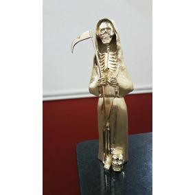 San La Muerte En Oro 18 K