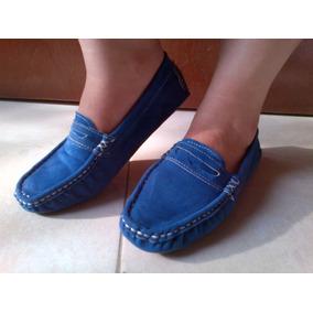 Bello Zapatos Dama Mocasines Anat Y Chelo Casuales Gamuza37