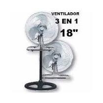 Ventilador Tower 18 3en 1 Paletas Metalicas Oscilante