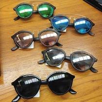 Kit 6 Oculos De Sol Modelo Gatsby Promocao Atacado Revenda