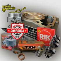 Kit Taxado Titan150 P/crf 230cc + Comando 330° P/ Carburada