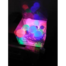 Pisca Bola Cristal Cordão Luminoso Colorido 38457
