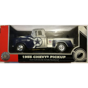 Camioneta Chevy Pickup 1955 Dallas Cowboys Escala 1:24 Nfl