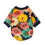 Perro Floral Fitwarm De Moda De Verano La Camiseta De Ropa