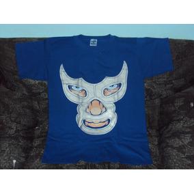 Playera Lucha Libre Blue Demon Talla S Lucha Libre Mexicana