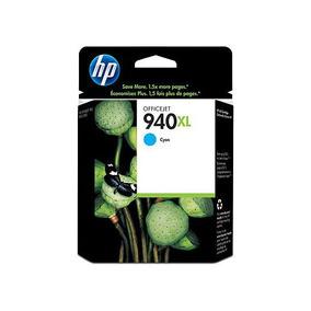 Tinta Hp 940xl C4907al Color Cyan Alta Capacidad