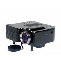 Mini Projetor Unic 80pol Hdmi C/ Controle, Usb, Sd, Av, Avg