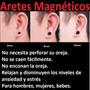 Piercing,expansor, Pendiente, Arete, Punk Iman, Magneticos