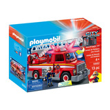 Playmobil Camion De Rescate Bomberos Luz Y Sonidos Autobus
