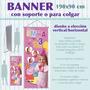 Banner Con Foto 90x190 Lona Vinilica, Gigantografia