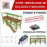 Curso Cype/metalicas 3d 2016 - Escadas E Mezaninos