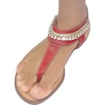 Sandália Rasteirinha Feminina Oferta Fábrica Véria Calçados