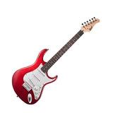 Guitarra Eléctrica Cort G Roja Mate G100 Opbc