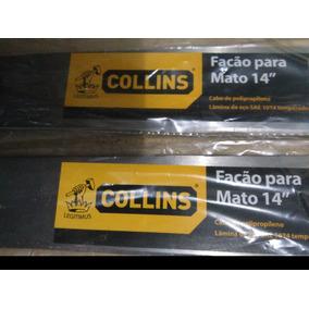 Facao Collins 14 Pol. Colecionador Antigo Collins Legitimus