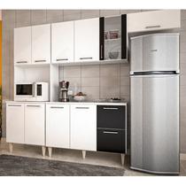 Cozinha Compacta Milla Com Balcao Branco Compra Segura